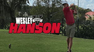 Wesley Hanson Named GSC Golf Freshman of the Month