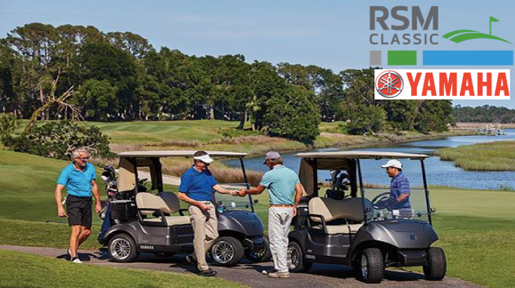 Yamaha Golf-Car Company to Continue Sponsorship of RSM Classic Pro-Am Through 2020