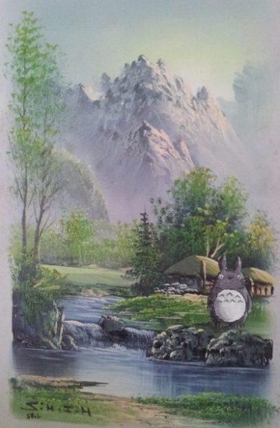 Totoro - CC (non-commercial) S. G. Larner