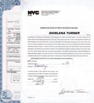 Apostille For Birth Certificate In New York