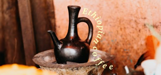 Ethiopian coffee pot