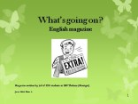 English magazine