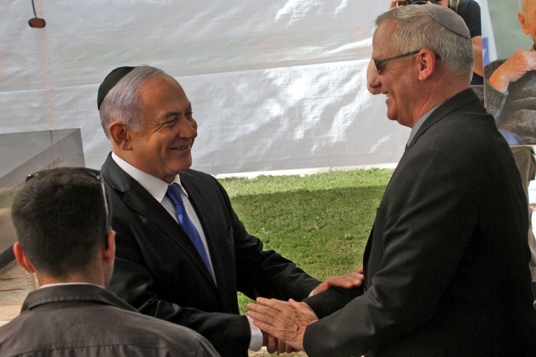 Israel S Netanyahu Gantz Unity Government Should Promote