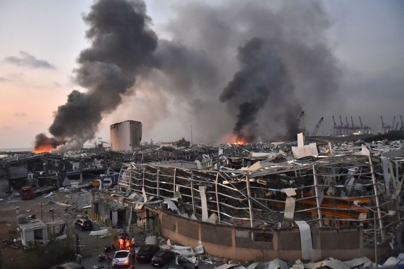 Thousands Injured in Giant Beirut Blast