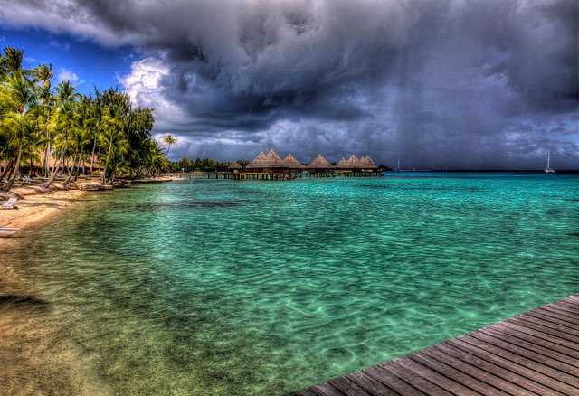 Storm in paradise, courtesy vgm8383/flickr (CC BY-NC 2.0)