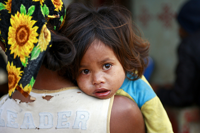 Mother & Child in Timor Leste, courtesy UN Photo/Flickr