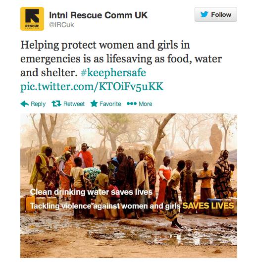 IRC Tweet