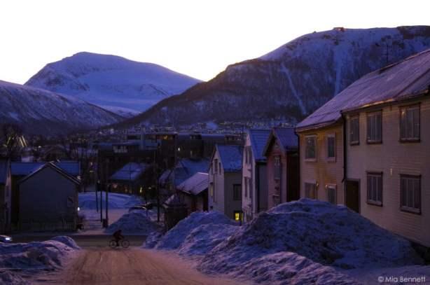 Not enough housing in Tromsø. January 2014. © Mia Bennett