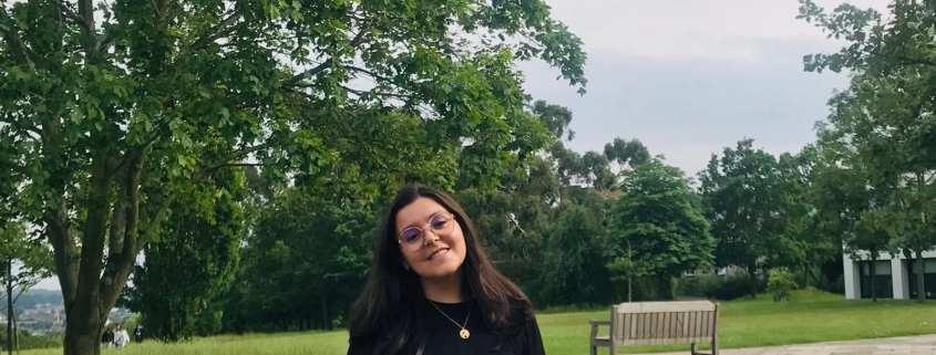 Picture of Catarina M. Liberato in a park
