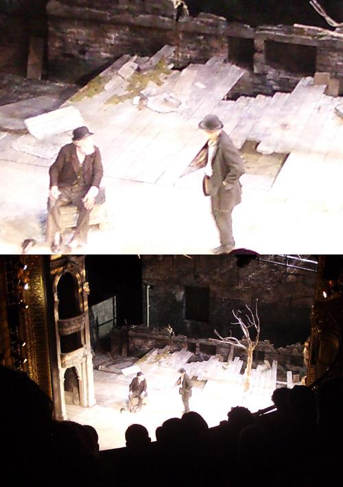 Sir Ian McKellen ja Patrick Stewart: Waiting for Godot (Theatre Royal Haymarket, 1.8.2009).