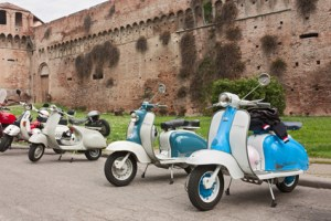 old italian scooters