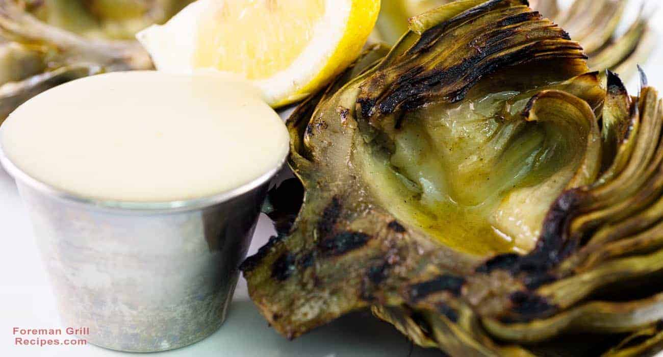 Grilled Artichoke Dipping Sauce Recipe