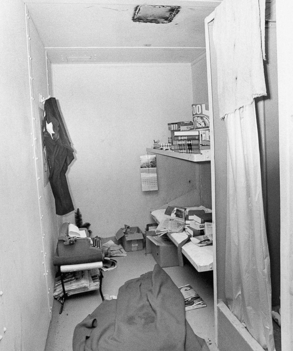 Serial killer Ted Bundys prison cell
