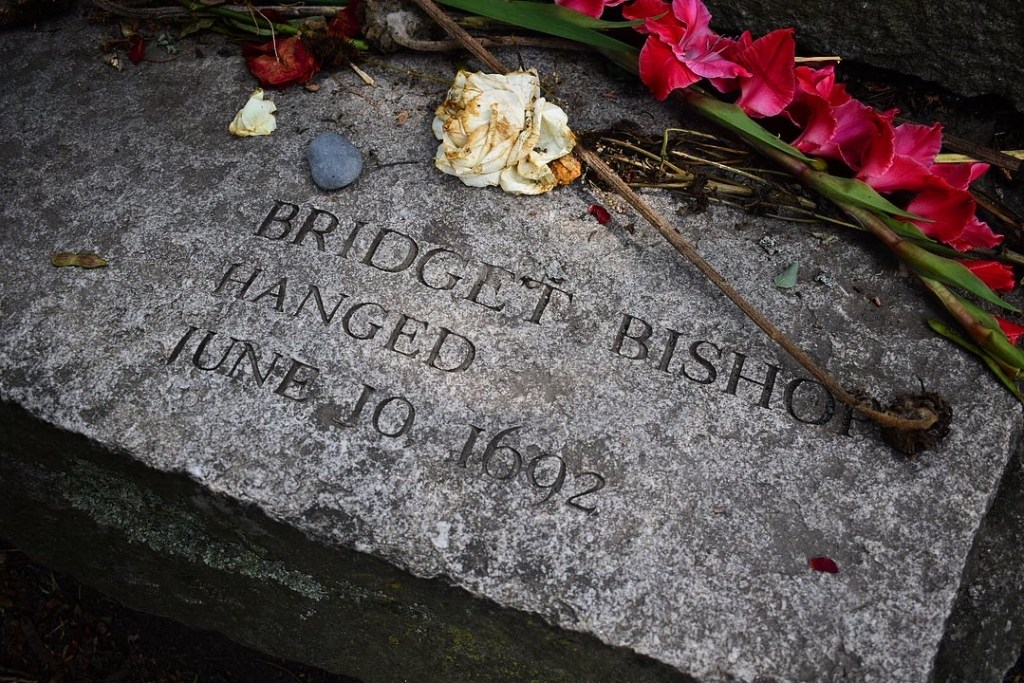 Bridget Bishop one of the first accused executed during the trials