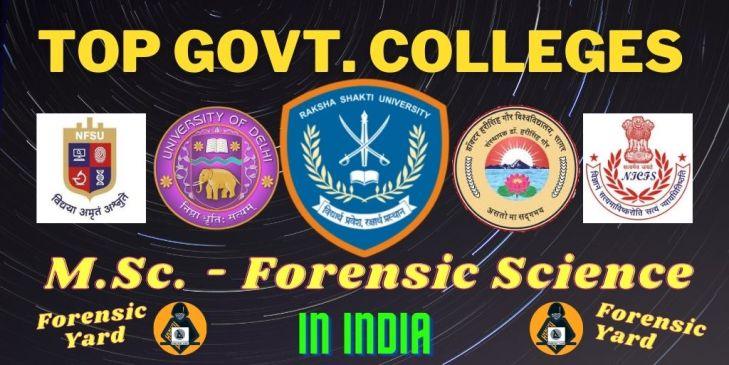 Top forensic science colleges