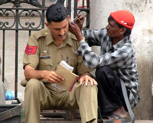 Foreskin Press police cop policeman gay march india indian pride article 377 chennai 1