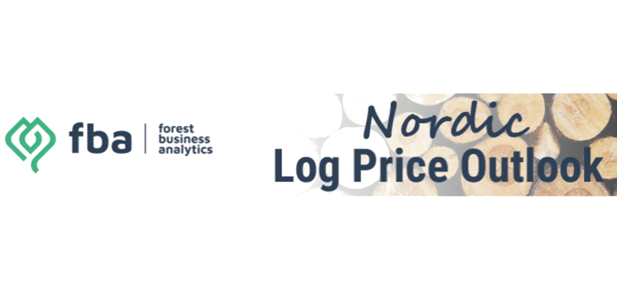 What are the general sentiments about the future of the log prices in Nordic countries?