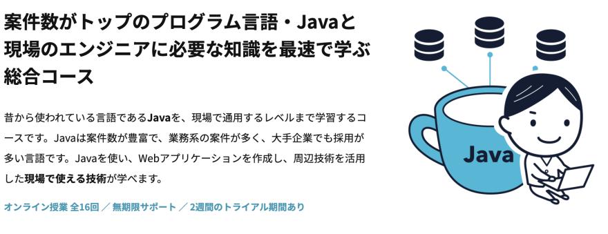 RaiseTech(レイズテック):Javaフルコースについて