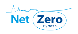 Logo: Net Zero by 2035