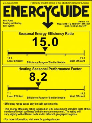an example seer rating