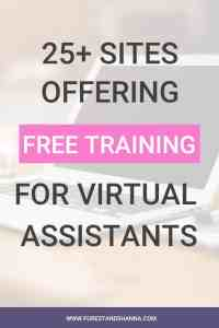 25+ Sites Offering Free Training for Virtual Assistants