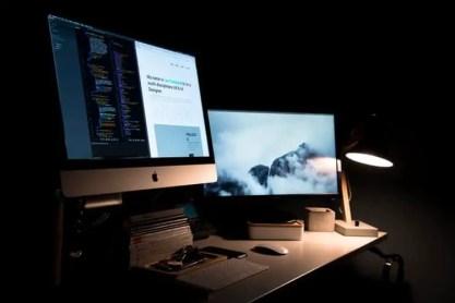 A web designer or web developer