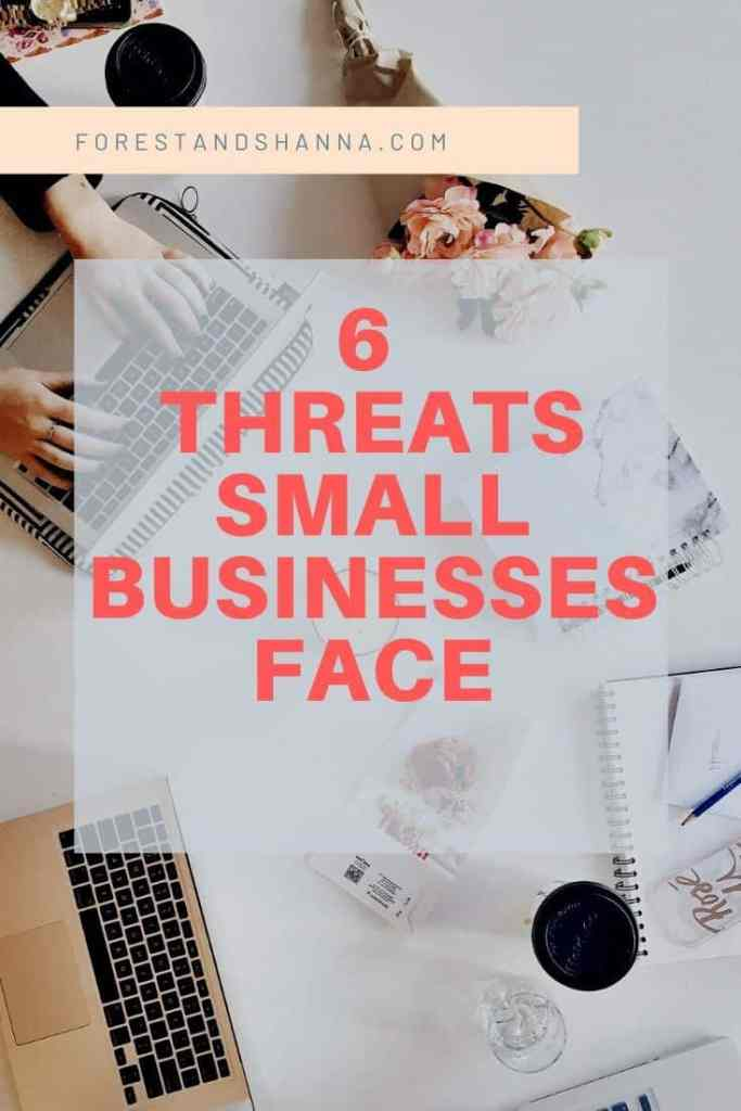6 Threats Small Businesses Face