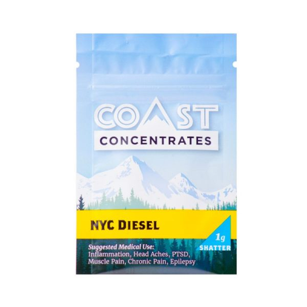 forestcitygreen.com NYC Diesel Coast Concentrates Shatter