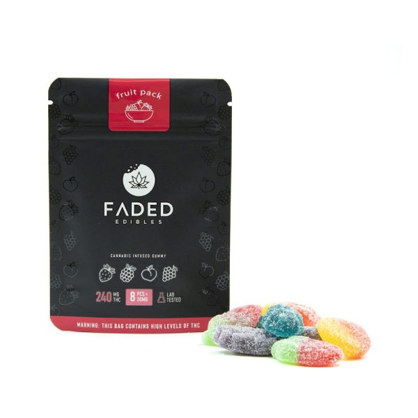 Faded Fruit Pack (240mg THC)