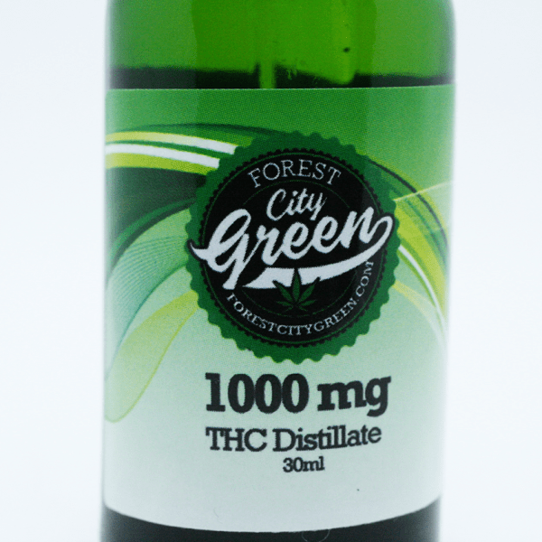 FCG THC Tincture 1000mg forestcitygreen
