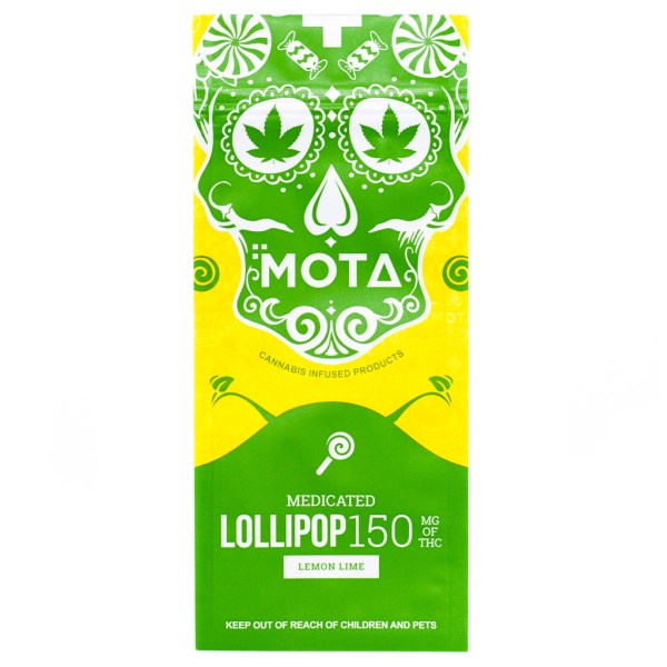 MOTA Lemon Lime Lollipop (150mg THC)