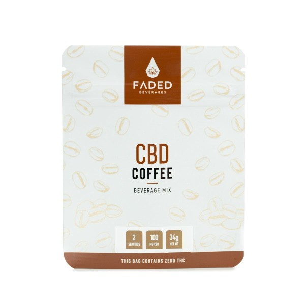 CBD Coffee (100mg CBD) (2 Servings)
