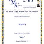 2015 OWMR award Forest Field