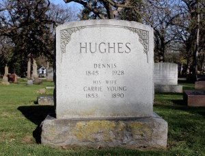 Hughes Memorial, Section 33. Photo by Marisa Gomez.