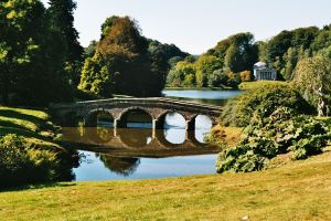 """Stourhead garden"" by Lechona at the German language Wikipedia. Licensed under CC BY-SA 3.0 via Wikimedia Commons - http://commons.wikimedia.org/wiki/File:Stourhead_garden.jpg#/media/File:Stourhead_garden.jpg"