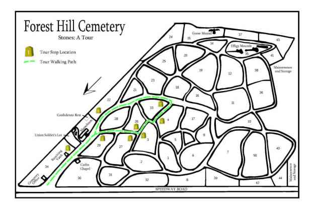 Forest Hill Cemetery Stones Tour