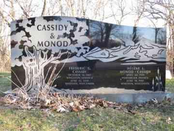 Fred Cassidy & Hélène Monod