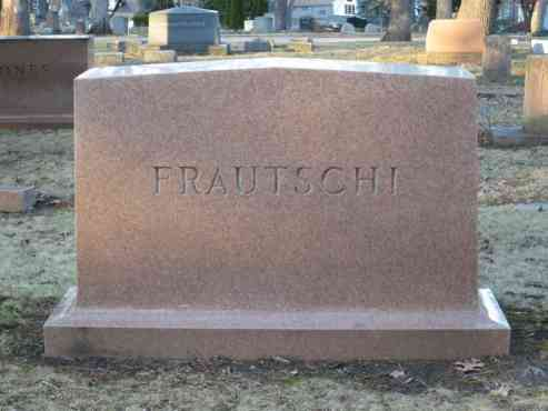 Frautschi Family Graves