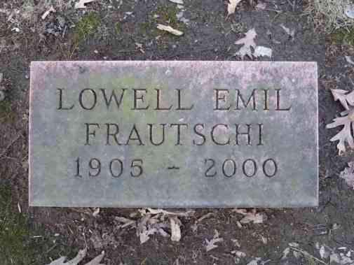 Lowell Emil Frautschi