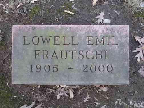 Lowell Emil Frautschi