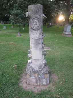 Woodsmen Grave, W. I. Schleicher