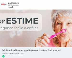 silvereco forestime vetement senior