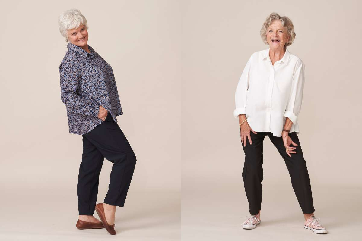 forestime vetements seniors confortables sans boutons