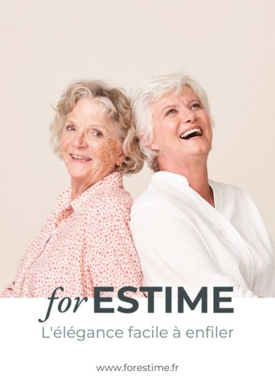 forESTIME catalogue de vetements pour seniors pratiques