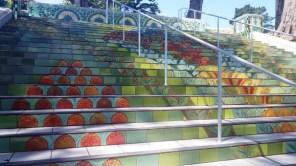 lincoln park steps 3 - san francisco - by tony holiday