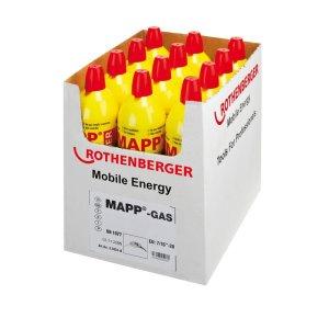 Butelie gaz ROTHENBERGER MAPP GAS