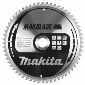 Makita B-08925 - PANZA CIRCULAR MAKBLADE LEMN 255X30X32 - ForeStore