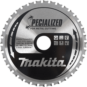 Makita B-09759 - PANZA CIRCULAR METAL/OTEL 185X30X38 - ForeStore