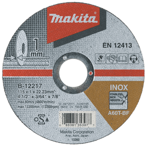 Makita B-12267 - DISC TĂIERE INOX 180X1.6X22 - ForeStore