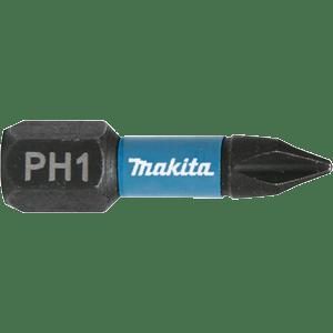 Makita B-63600 - 2 BITI IMPACT BLACK HEX 1/4 PH 1 25MM - ForeStore